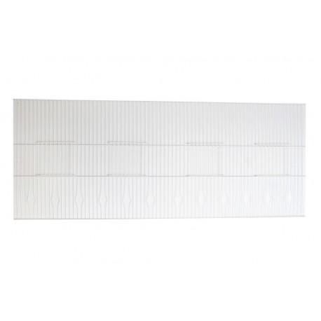 Frontal Jaula (100 x 40cm) Zinc