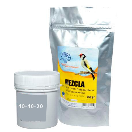 Mezcla Pigmentante 40-40-20