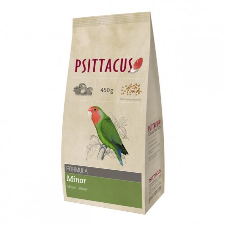 PSITTACUS FORMULA MINOR 450gr