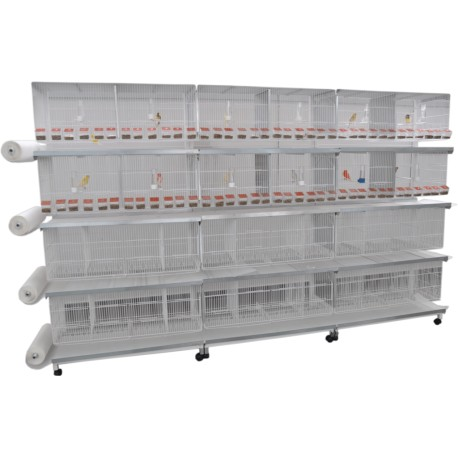 Bateria 12  Jaulas Metro Sistema Papel  PA-1 Comunicables