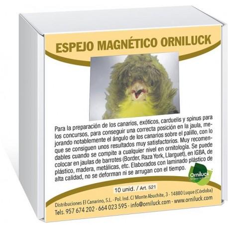 Espejo Adhesivo Orniluck (10 Unidades) Espejo Magnético Orniluck (10 unidades)