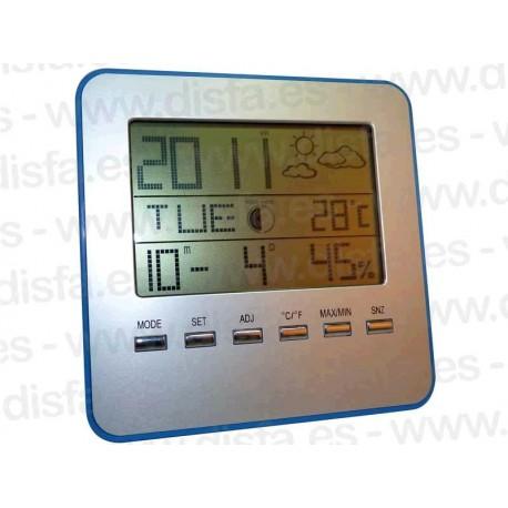 Reloj Control Temperatura y Humedad