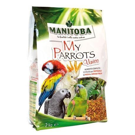Pienso de Loros My Parrots UNICO