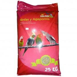 Alimento ninfas y agapornis Faunamix